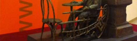 Una escultura recordarà Amat-Piniella a la terrassa del Casino