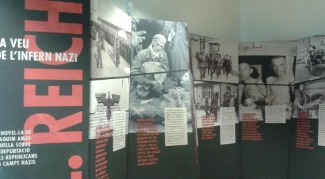 """L'EXPOSICIÓ """"K.L. REICH: LA VEU DE L'INFERN NAZI"""", A LA BIBLIOTECA P. IGNASI CASANOVAS, DE SANTPEDOR"""