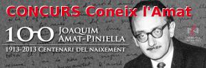 """El 4 d'abril comença el concurs """"Coneix l'Amat"""", que organitza el Centre de Normalització Lingüística Montserrat"""