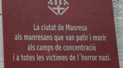 Segon dia d'expedició: una placa institucional recorda des d'ahir, a Gusen, els manresans víctimes del nazisme