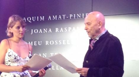 L'obra d'Amat-Piniella, a la cerimònia de lliurament dels Premis Nacionals de Cultura