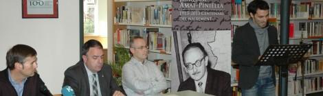 Es presenten els eixos del programa d'activitats de l'Any Amat-Piniella