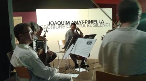 """Brossa Quartet clou amb """"Músiques de l'Holocaust"""" les activitats del Museu d'Història de Catalunya dedicades a Amat-Piniella"""