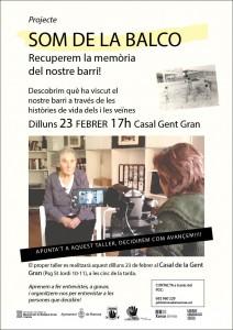 """Nou taller del projecte """"Som de la Balco!"""""""