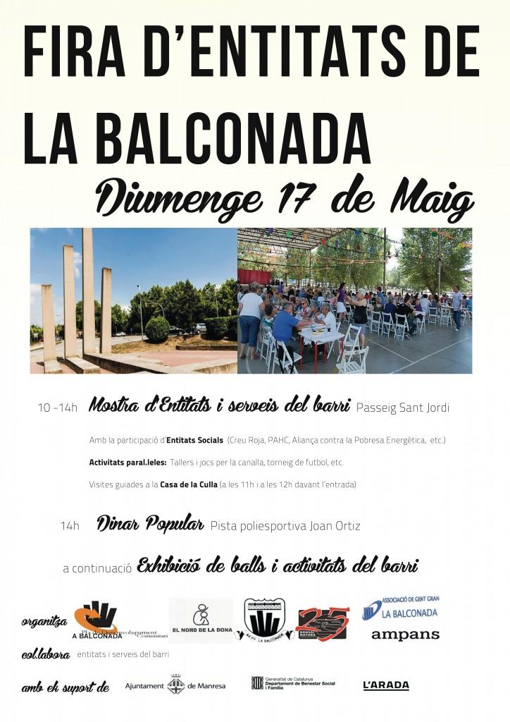 17 de Maig – Fira d'Entitats de la Balconada