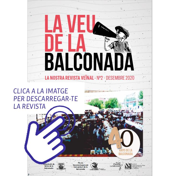 La Veu de la Balconada, la revista del barri